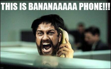 da da da Banana Phoneee!