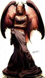 La mamá de las angelitas malas...