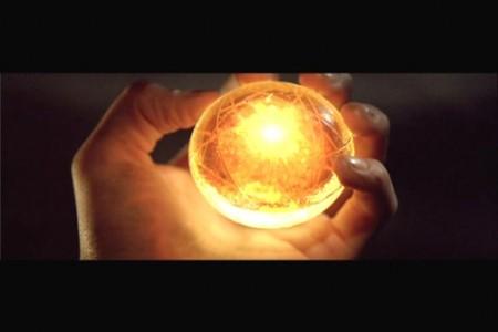 Esfera del dragon brillante