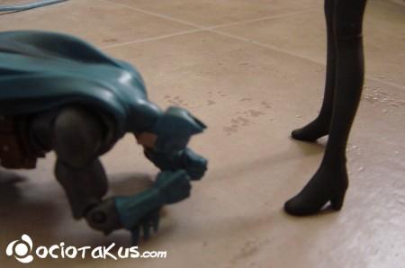 Batman derrotado ante el sexo femenino...