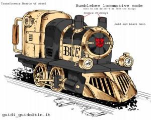 Transformer Locomotora Bumblebee