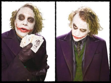 Maquillaje Heath Ledger como Joker