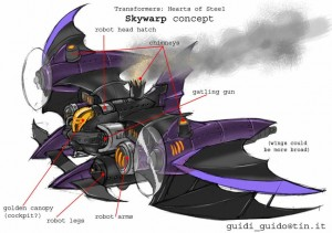 Transformer Skywarp