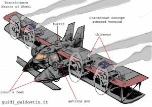Transformer Decepticon Avión