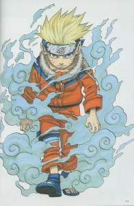 Naruto enojado porque ya no hablará japonés...