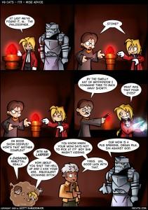 Fullmetal Alchemist VS Harry Potter: ¿De quién es la piedra filosofal?