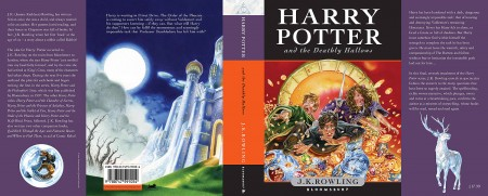 Portada de Harry Potter Deathly Hallows