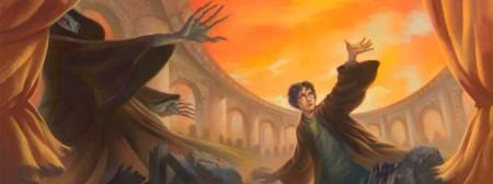 Arte de la portada del nuevo libro de Harry Potter