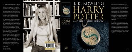 Portada de Harry Potter con JK Rowling