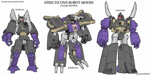 Transformers Insecticones