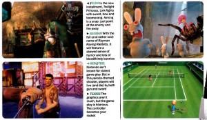 Imágenes de Juegos para el Wii en la revista Time