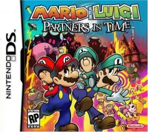 Mario and Luigi Partners in time Nintendo DS