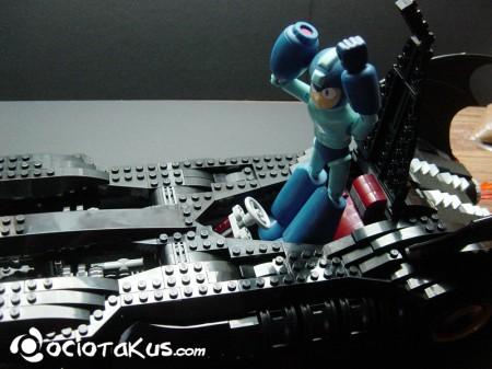 Megaman no entró por sus patotas...