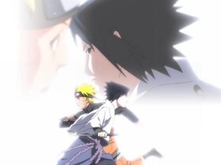 Naruto y Sasuke en Naruto Shippuden