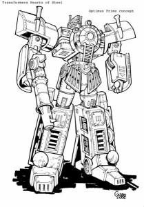 Transformers Evolution Optimus Prime