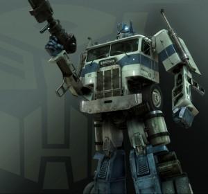 Optimus Prime Tramsformers 2