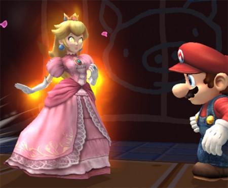 A la princesa Peach se le metió le chamuco, corre Mario!