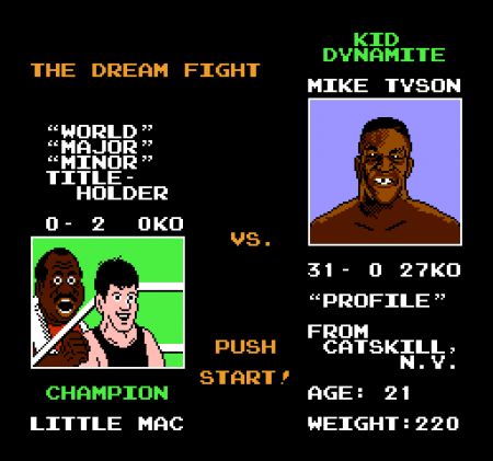 Punch out para Nintendo