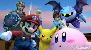 Super Smash Bros Brawl -Personajes