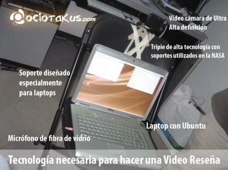 Tecnología utilizada en las oficinas de Ociotakus